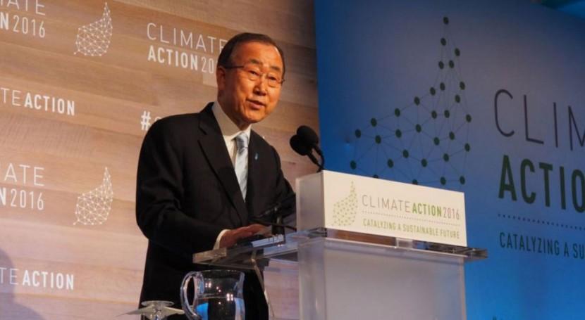 Es imperativo actuar ahora cambio climático, reitera ONU