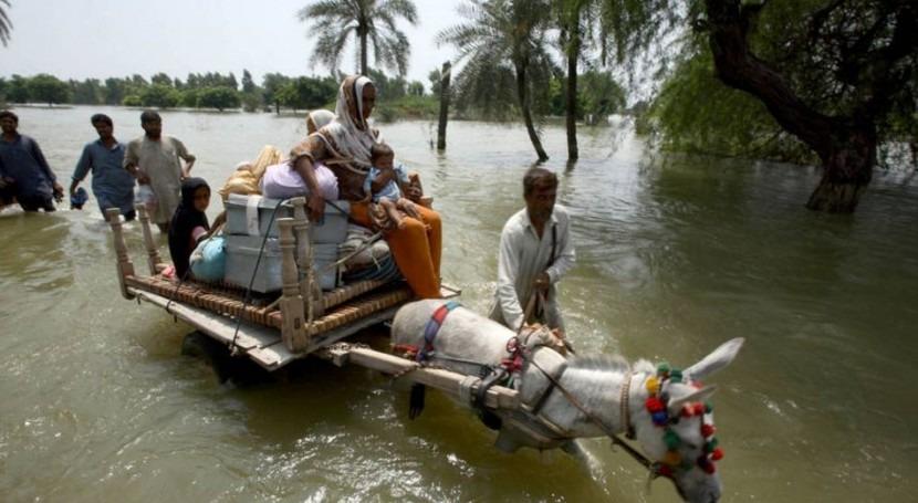golpe más duro cambio climático se lo llevan pobres y que sufren hambre