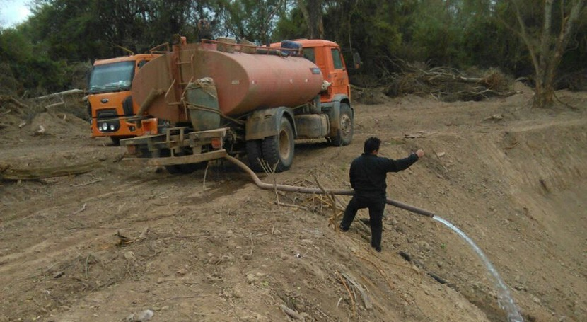 Paraguay ya interviene puntos críticos río Pilcomayo