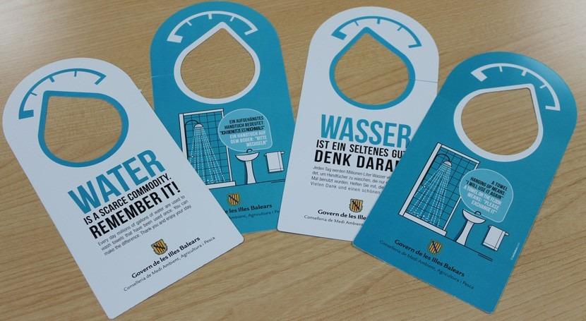 Baleares amplía campaña sensibilización ahorro agua establecimientos hoteleros