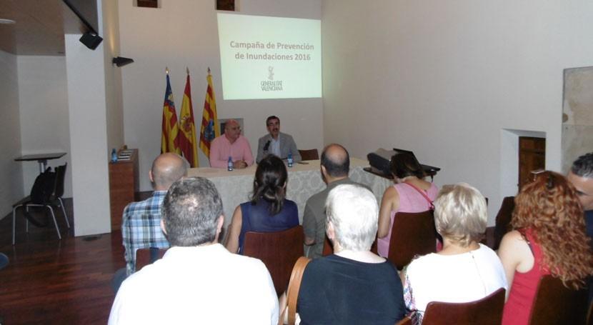 136 municipios Comunidad Valenciana tienen riesgo inundación