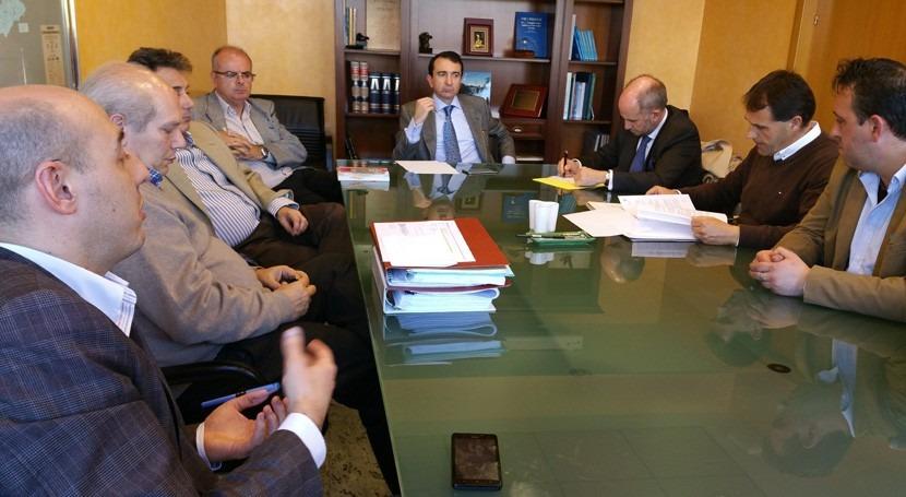 aspectos concesionales Canal Castrejón. tema central última reunión CHT
