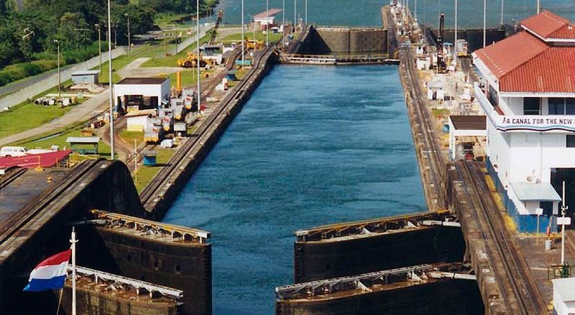 Sacyr asegura que construcción Canal Panamá ha sido tiempo récord