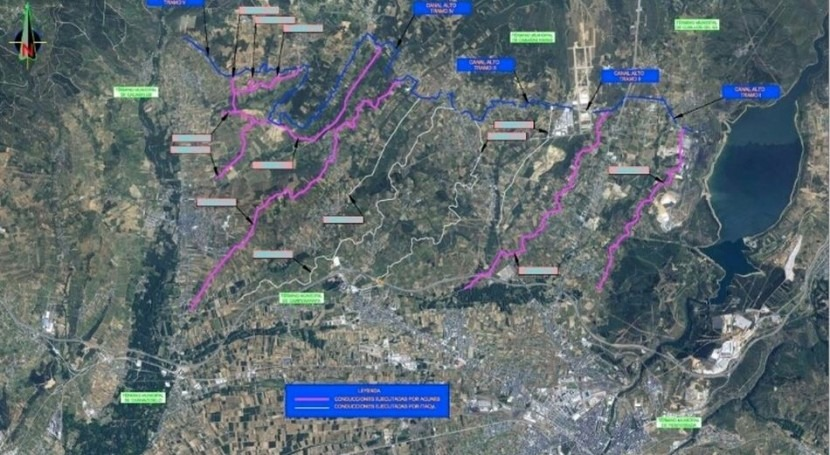 Finaliza modernización regadíos Canal Alto Bierzo inversión 16,5 millones