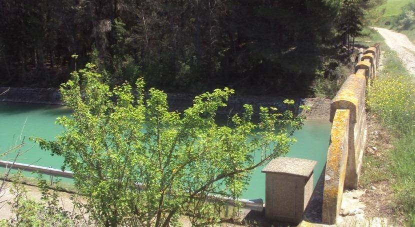 CHE licita obra reparación túnel Cáseda, Canal Bardenas, Navarra