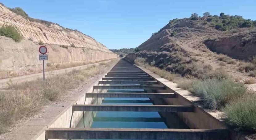Adjudicado proyecto remodelación taludes canal Monegros