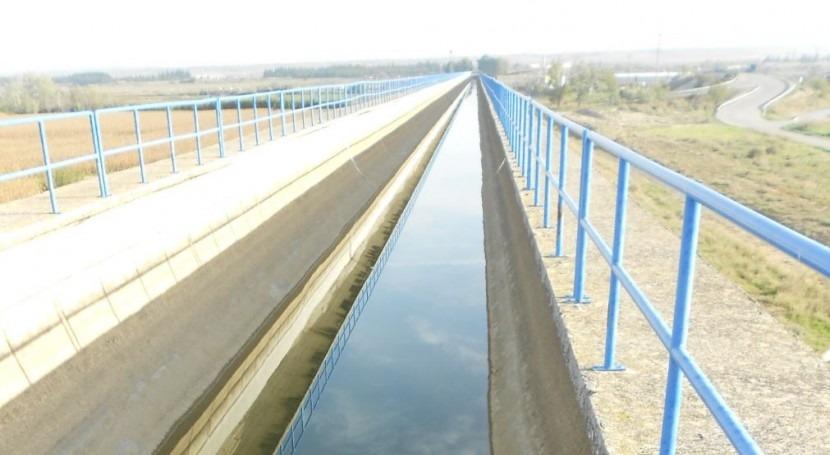 Licitada actuación mantenimiento y conservación Canal Monegros