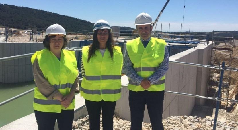 obras ampliación primera fase Canal Navarra superan 40% ejecución