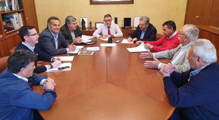 CHS gestiona peticiones nuevas concesiones regantes Cancarix y Agramón
