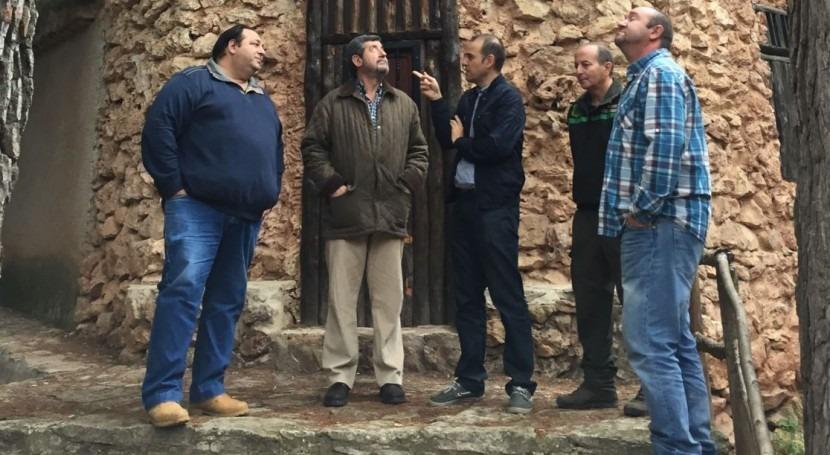 regantes se beneficiarán recuperación caños Espuña y Alquerías