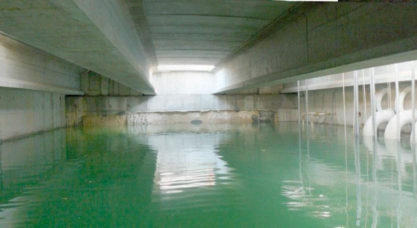 Sistemas captación desaladoras agua mar (I). Tomas abiertas