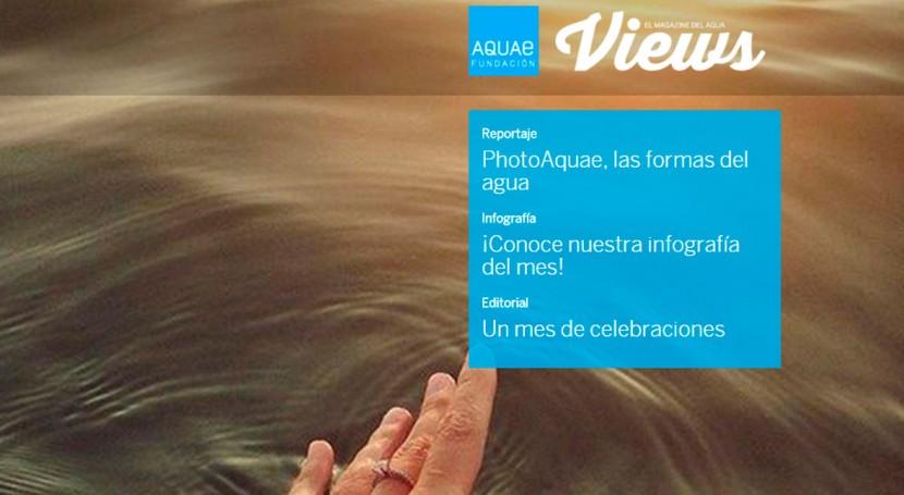 Ya está disponible nuevo número AquaeViews