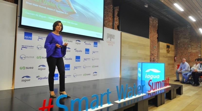Schneider Electric muestra aplicaciones EcoStruxure primer Smart Water Summit