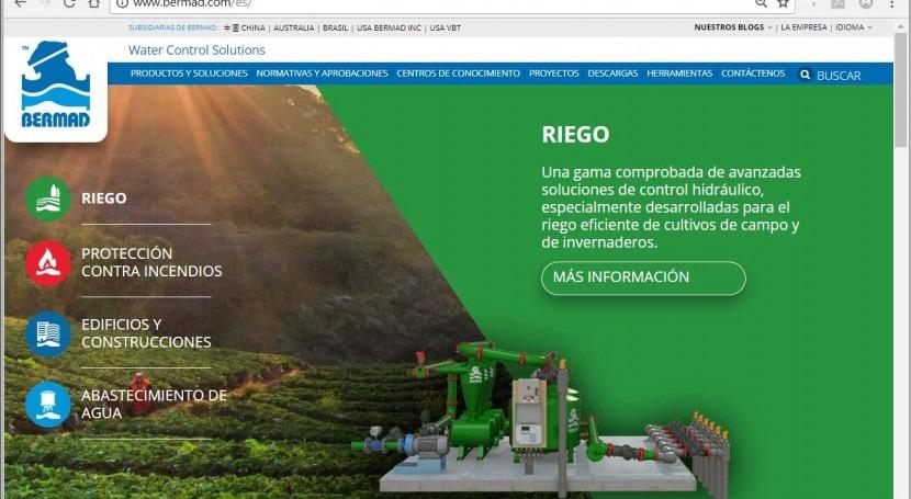 BERMAD estrena Web español