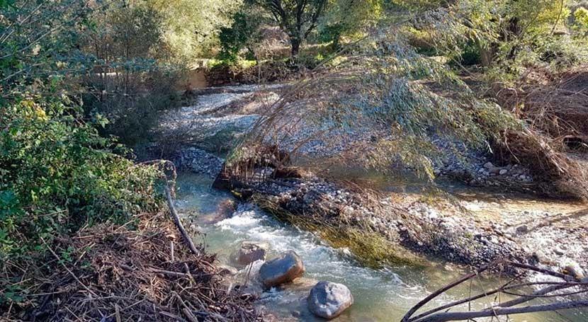 ACA finaliza cerca 50 actuaciones restaurar cauces afectados aguaceros