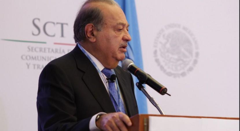 Carlos Slim lanza OPA 100% FCC