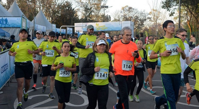 México celebra cuarta Carrera Agua