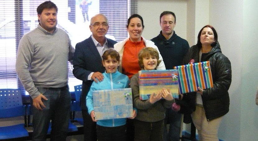 Tres escolares Caspe, finalistas Concurso internacional dibujo infantil Aqualia