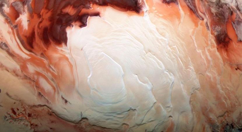 lagos Marte se encuentran áreas demasiado frías que agua permanezca líquida