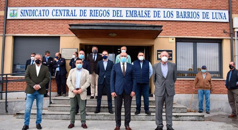 Junta Castilla y León ya ha iniciado actuaciones 11.352 hectáreas regadío León
