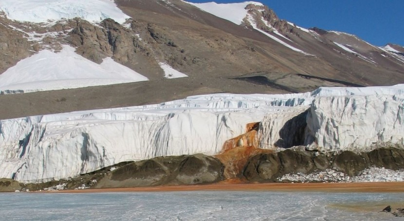 Cataratas de Sangre (Wikipedia/CC).