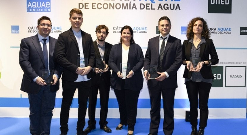 Premios Cátedra Aquae Economía Agua cumplen cinco años