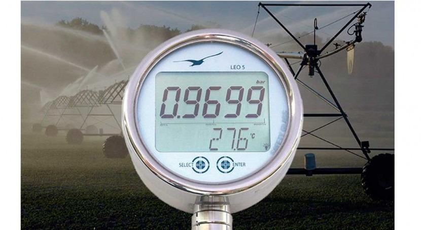 Manómetro digital LEO5 análisis picos presión