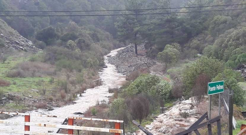 Gobierno chileno verifica restitución cauce estero Pellines
