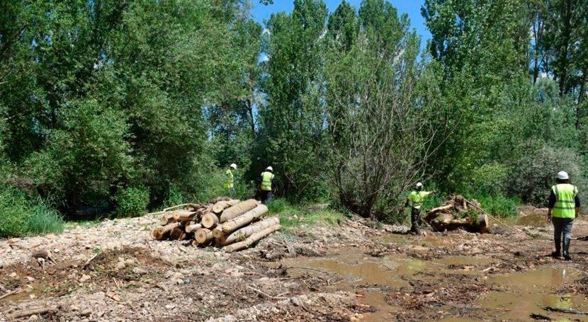 CHD invierte 1,4 millones euros mejora hidráulica 134 kilómetros cauces León