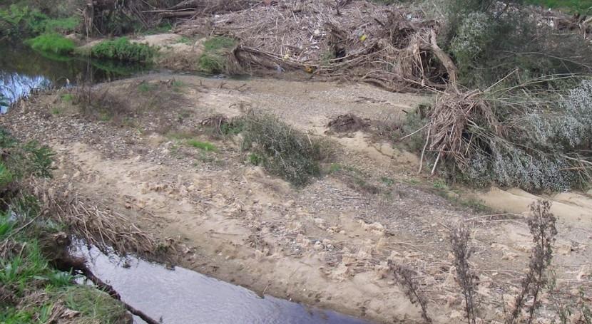 Río Onyar a su paso por Quart.