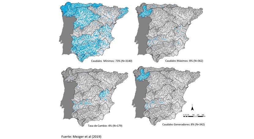 No solo caudales mínimos vive río: algunas cifras caudales ecológicos