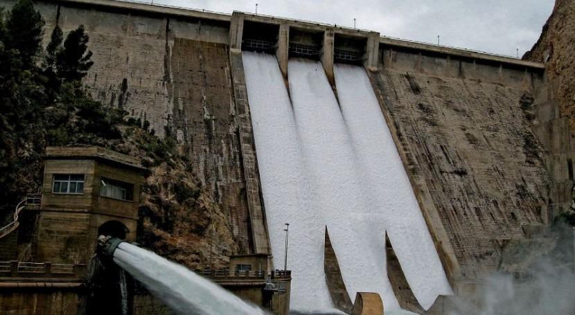 Años extraordinarios aportaciones hidrológicas cuenca Segura