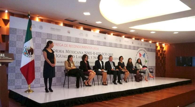 Certifican al IMTA Norma Mexicana Igualdad Laboral y No Discriminación