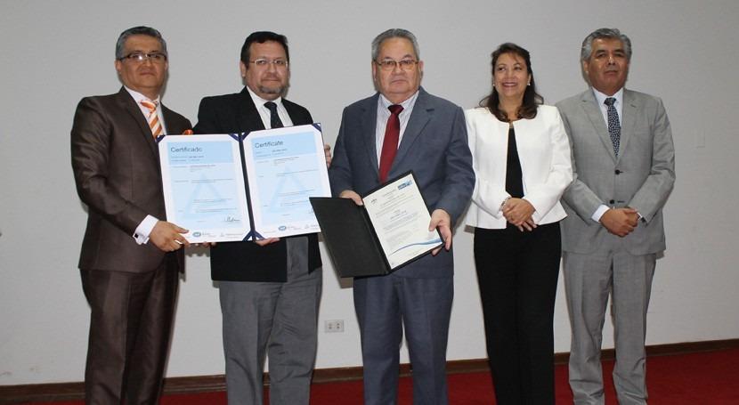 ANA obtiene primera certificación ISO Antisoborno e ISO Gestión Calidad agua