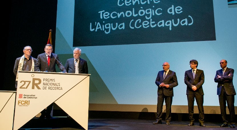 Cetaqua, galardonado trabajo Investigación e Innovación