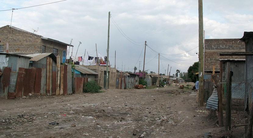 barrio keniano chabolas tendrá primera planta reciclaje aguas residuales África