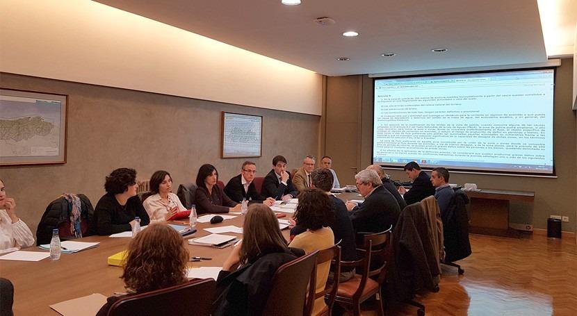 técnicos Comisaría Aguas presentan mejoras tramitación administrativa Oviedo