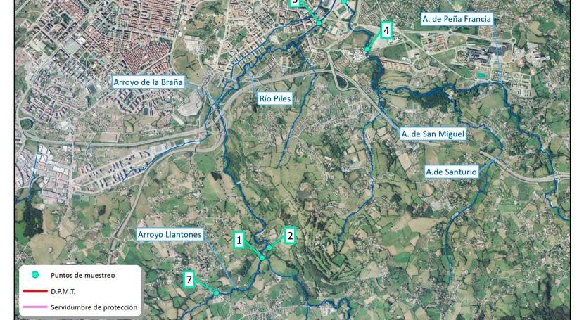 Seguimiento calidad aguas cuenca río Piles