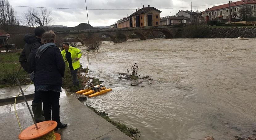 Confederación Hidrográfica Duero vigila evolución caudales tiempo real