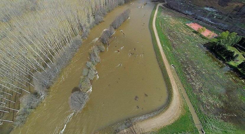 CHD analiza alcaldes Órbigo medidas actuación riesgo inundación