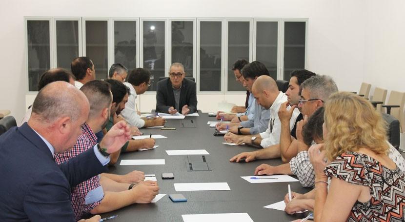 presidente CHG se reúne alcaldes Antequera estudiar demandas hídricas