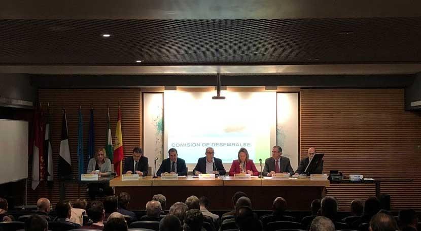 Comisión Desembalse CHG hace balance campaña riego y año hidrológico