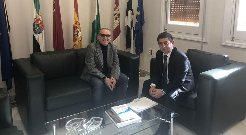 presidentes CHG y Diputación Jaén se reúnen avanzar temas provincia