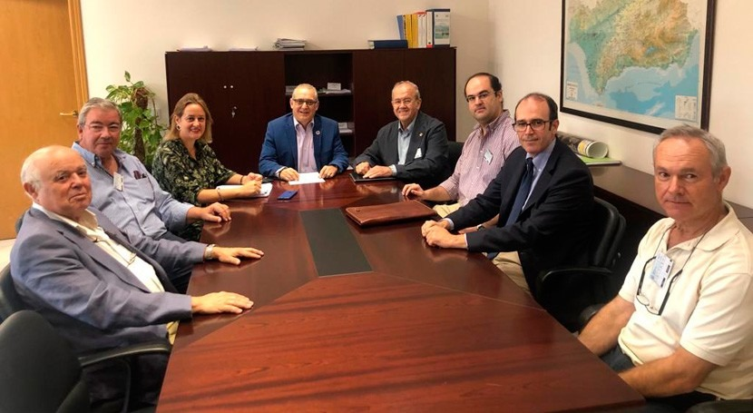 CHG revisará proyecto remodelación canal zona regable Guadalmellato