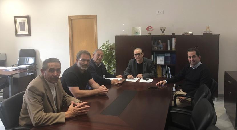 CHG se reúne SOS Guadix revisión Plan Hidrográfico Guadalquivir