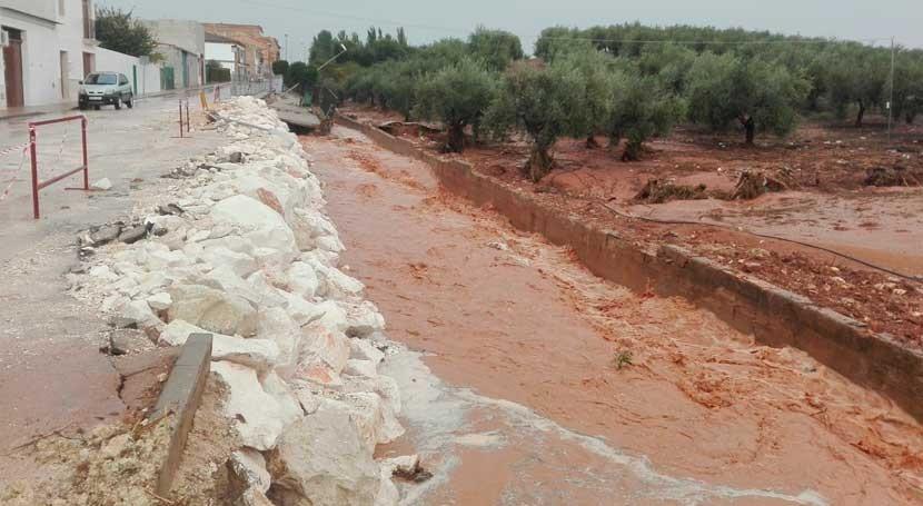 obras emergencia Casariche evitan nuevas inundaciones