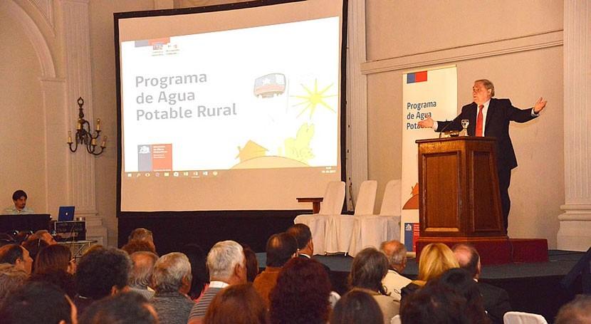 Chile aprueba reglamento operación nueva ley Agua Potable Rural