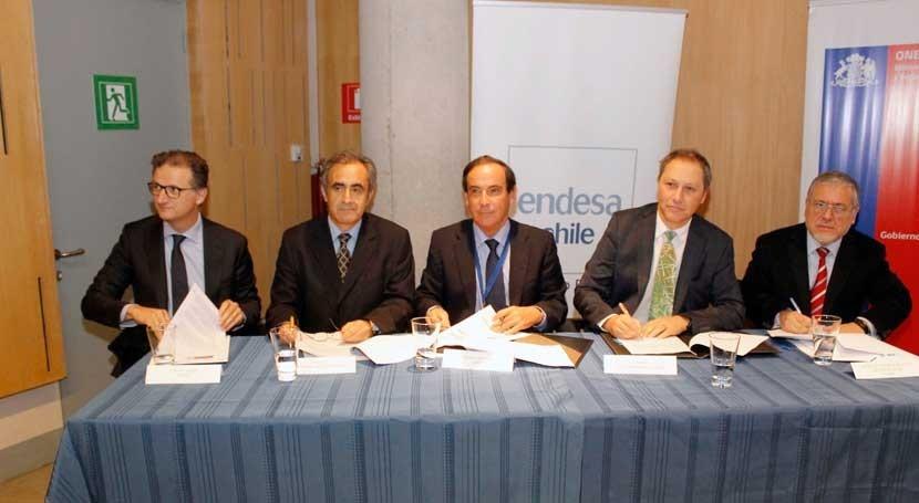 Chile firma protocolo Endesa y Colbún monitorear embalses y actuar crecidas