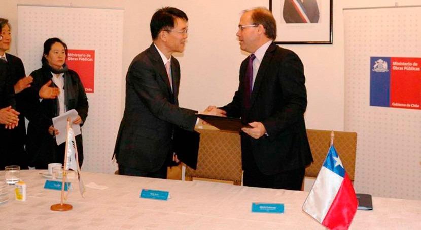 Chile y Corea Sur firman acuerdo cooperación materia recursos hídricos