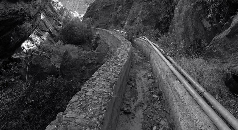 Valorando obras hidráulicas construidas Gran Canaria década 1970